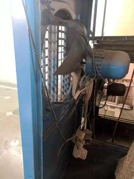 Desert cooler 5.5 ft, 100% copper exhaust, 20gauge body, with stand