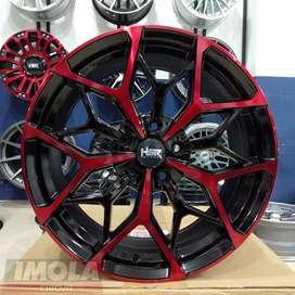 Velg mobil racing murah ring 18 HSR wheel baut 5x114,3 Gresik CRV