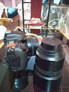 Nikon 750+85 and kit lense