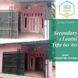 Dijual Murah Rumah 1 Lantai Secondary Kondisi Layak Huni Di Citayam