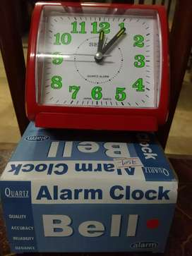Alaram clock with light