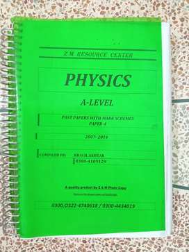 A Levels Physics P4 Past Papers