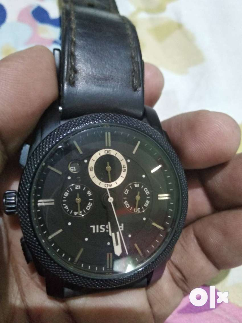 Fossil FS4656 Analog watch brown dial. 0