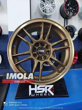 Veleg Racing Ring 15 Vios Yaris HSR NOSHIRO R15x7 Pcd 4x100 Cheria