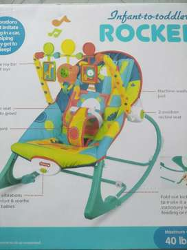 Baby rocker infant to toddler.vibration with music