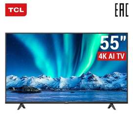 Ultimate TCL 55'' P615 4K UHD Smart Android LED TV.