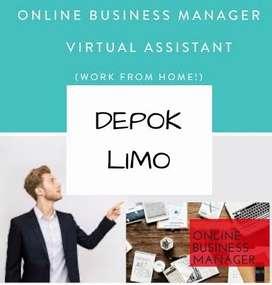 LOWONGAN KERJA > ONLINE BUSINESS MANAGER AREA DEPOK LIMO