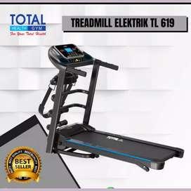 jual treadmill elektrik motorizer TL-619 FG-091 electric tredmil