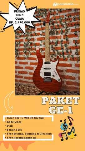 NEW ! PAKET HEMAT GITAR & BASS ELEKTRIK