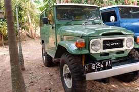 DIJUAL Toyota Hardtop th 78 Fj40 2F Bensin