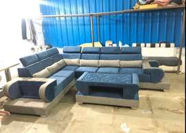 Capacity seating Emi Option Available tanveer furniture brand new sofa