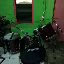 Drum rolling DH udh upgrade simbal