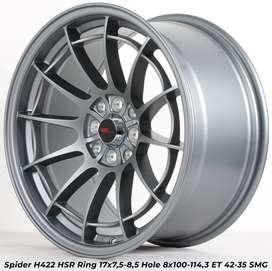 type SPIDER H422 HSR R17X75/85 H8X100-114,3 ET42/35 SMG