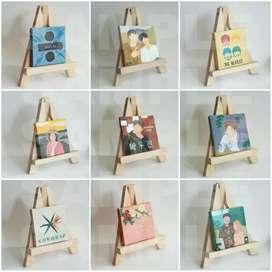 Kado Lukisan Custom Kanvas Mini Ukuran 10x10cm
