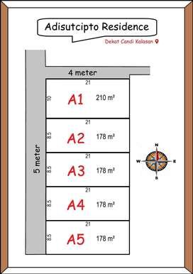 Istimewa,  12x BAYAR 0% Kavling Adisutjipto Residence dekat Wisata Can