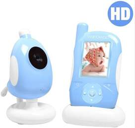 Baby Monitor Camera 2.4Ghz Audio Two-Way Intercom Vox Mode Temperature