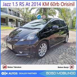 [DP29JT] Jazz RS matic 2014 Low km 60rb orisinil bs kredit
