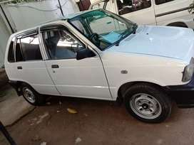 Suzuki mehran in immaculate condition.under army officer use.