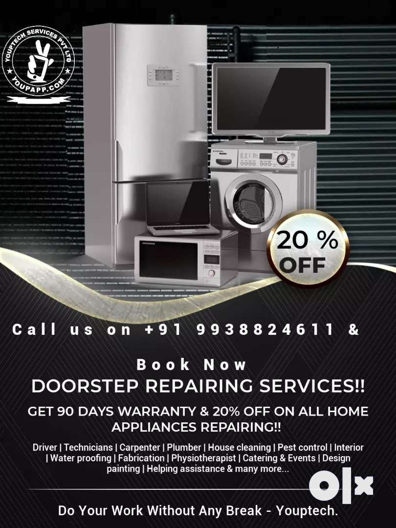 Repairing services with attractive price and warranty 0
