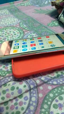 Moto m..only tuch are crack