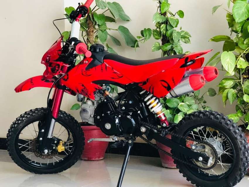 Mini trail bike 49cc || two months used | best for (12-15)year ages