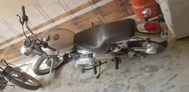 Modified good condition royal enfield.