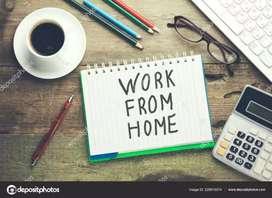 Good hand writing job weekly salary 13000/-