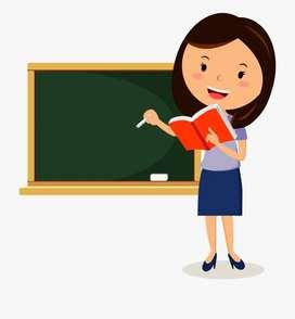 English Teacher (Phonetics) & Hindi Teacher