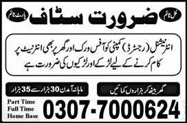 Online Job/Part Time/Home Base/Students have Golden Opportunity/