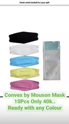 Masker Evo Convex By mouson isi 10pcs