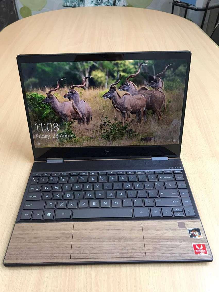 Laptop HP envy x360 amd Ryzen 7 Wood Edition (Nego santai) 0