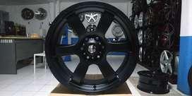 pelek black iron 20x9 pcd6x139.7 et18 pajero fortuner trailblazer imux
