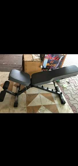 Multiple adjustable bench