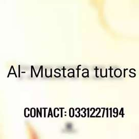 Experienced & Qualified Home Tutors Male & Female Required