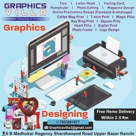 I am a Graphics Designer