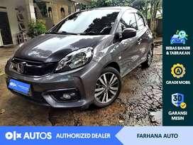[OLXAutos] Honda Brio Satya 2018 1.2 E A/T Abu-abu #Farhana Auto