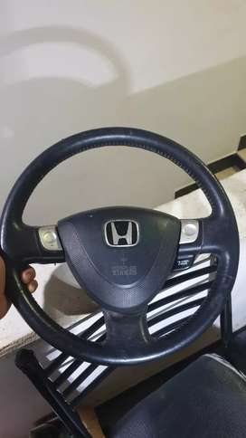 Honda steering with airbag
