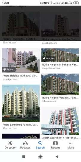 Four bhk flat for sell in rudra hight pahariya varanasi