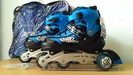 inline skate, sepatu roda ukuran besar