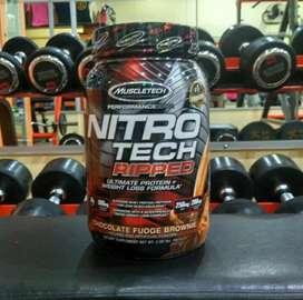 MT Nitro Tech Ripped 2 lb MuscleTech lbs NitroTech