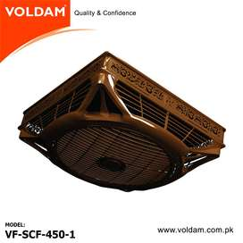 Voldam 18″ 2×2 (3 in 1) option Hi-Speed Decorative False Ceiling Fan