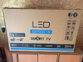 New led 40 inch smart voice command remote and bluetooth