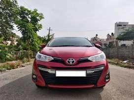 Toyota Yaris G Cvt, 2018, Petrol