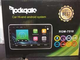 Android 7inch ram 2gb rom 32gb merek rockgate  garansi 1thn