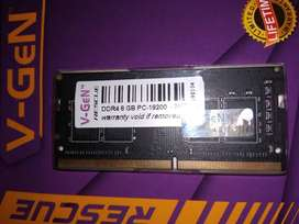 Ram Laptop Sodimm V-Gen Rescue DDR4 8G 2400Mhz PC19200 Original