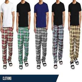 chexk pajamas for girls and boys nighwear only wholesale rates