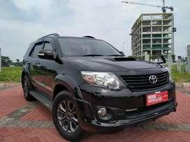 Toyota fortuner vnt trd 2015 km 60 angsuran 5,4 aja