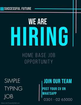 Online work opportunity simple typing work anyone can apply for it