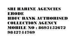 HDFC BANK COLLECTION AGENT