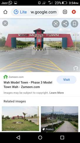 7 marlay plot for sale wah model town phase 3